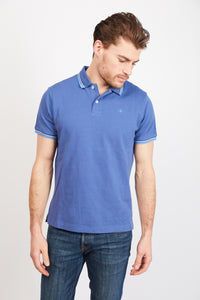 Twin Tipped Cotton Polo Shirt
