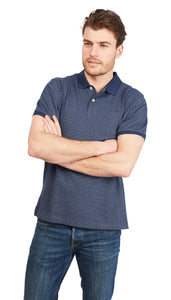 Polo Shirt Bird-Eye - Navy