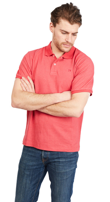 Polo Shirt Bird-Eye - Red