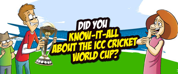 Did You Know-It-All About The ICC Cricket World Cup?