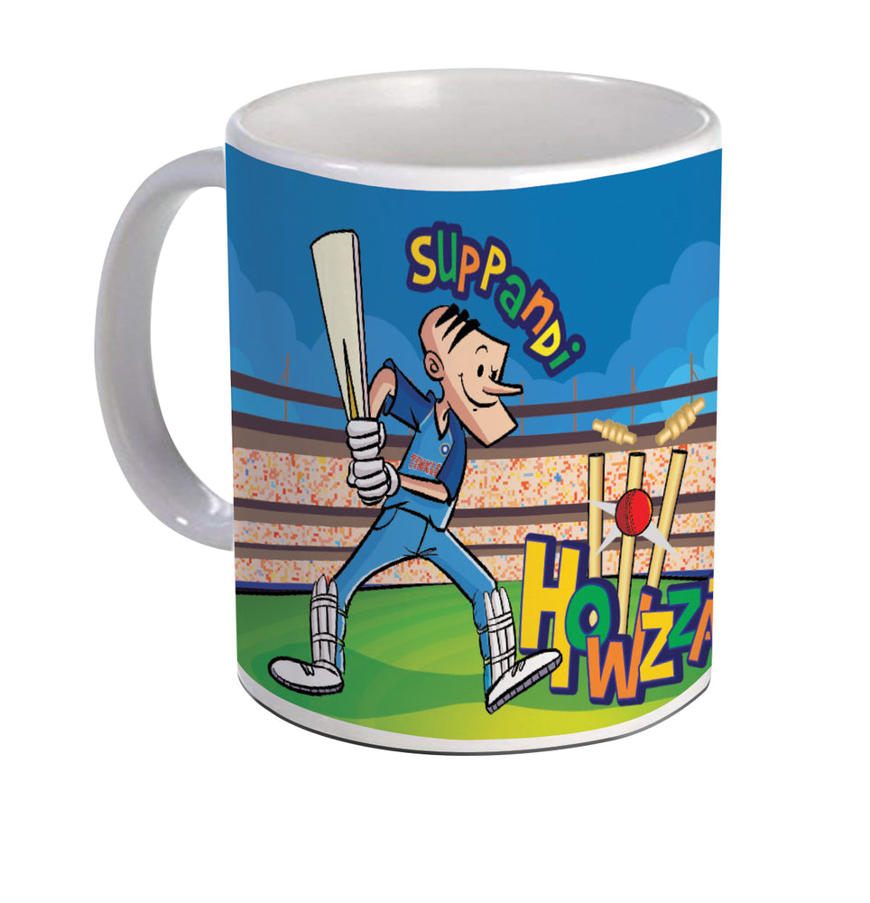 Suppandi Playing Cricket Coffee Mug