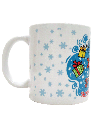 SHAMBU CHRISTMAS COFFEE MUG