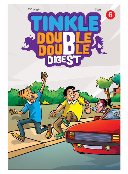 TINKLE DOUBLE DOUBLE DIGEST 6