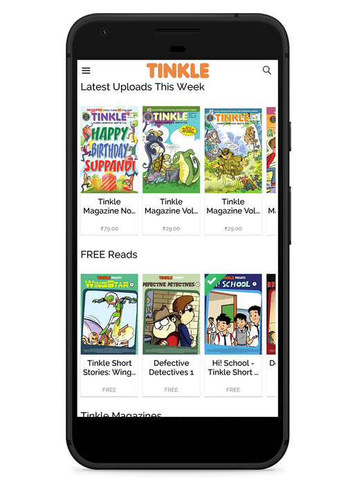 Tinkle App Subscription