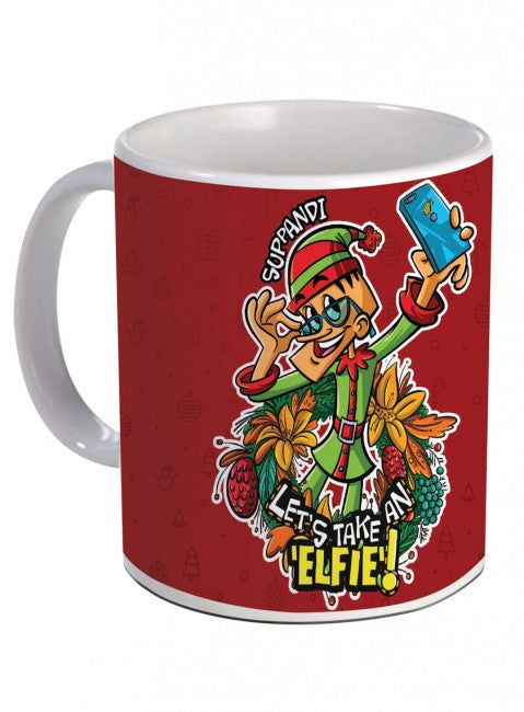 Suppandi Christmas Coffee Mug