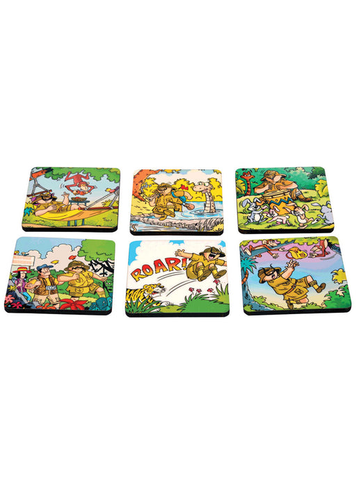 Comic Shambu Coaster Set
