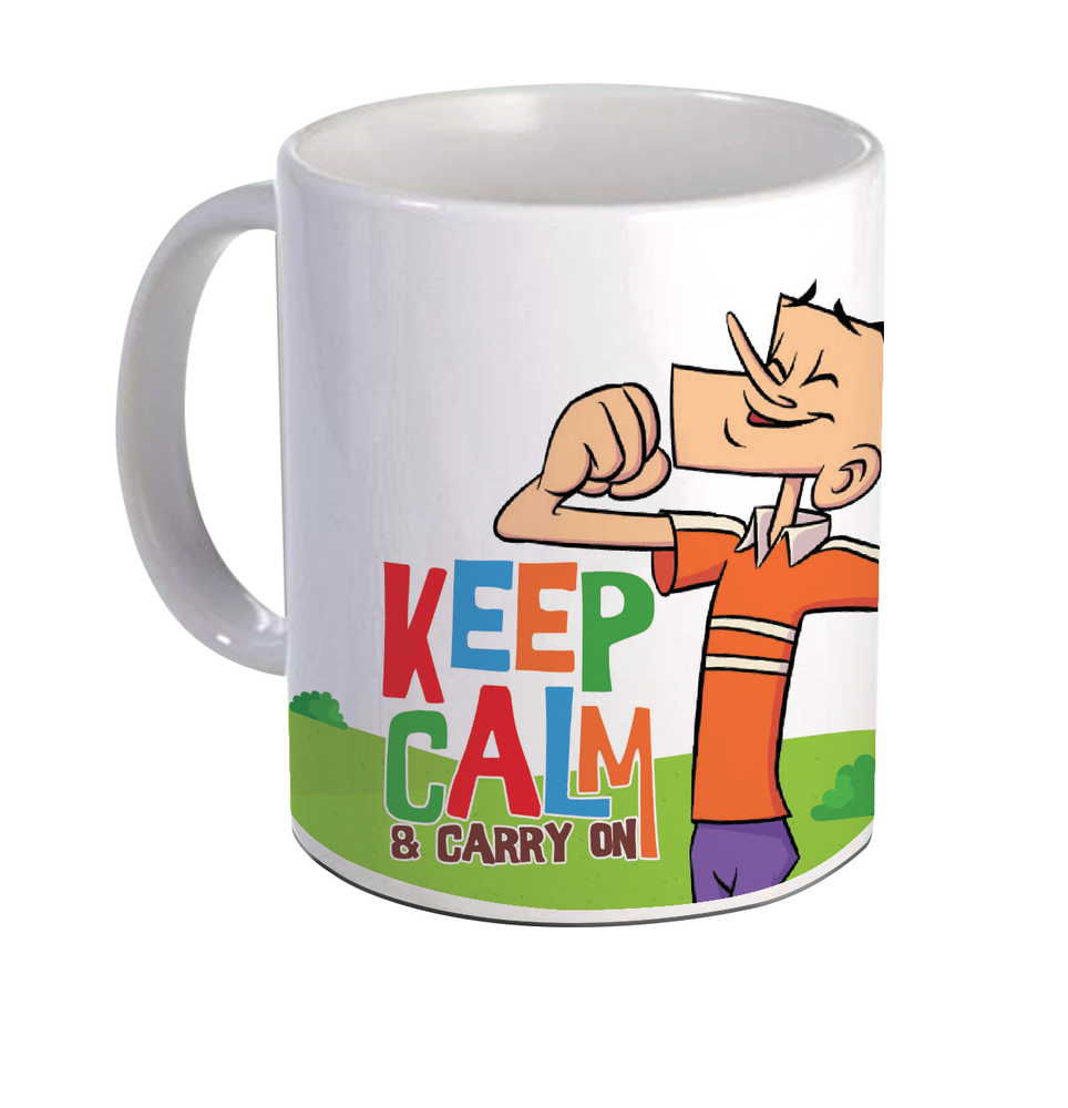 Suppandi Keep Calm (Coffee Mug)