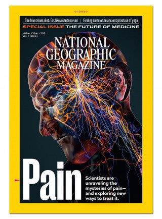 National Geographic Magazine 1 Yr Subscription