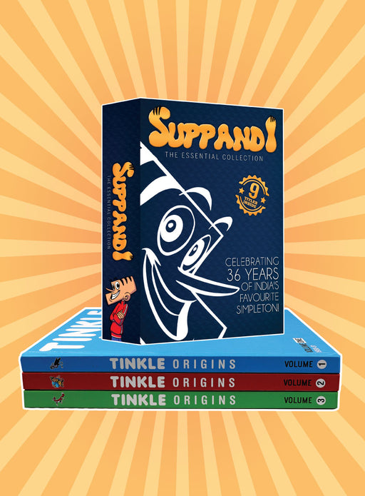 Tinkle Origins - Pack of 3+ Suppandi the Essential Collections