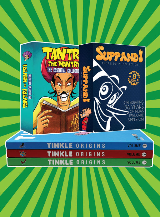 Tinkle Origins - Buy 2 Get 1 Free  + Suppandi + Tantri Collection