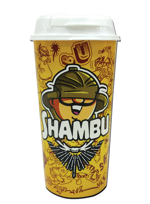 Stand Alone Shambu  (White) Sipper