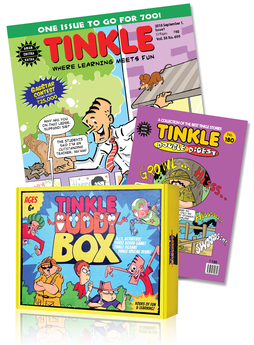 Tinkle Magazine+ Tinkle Double Digest- 1 Year Subscription