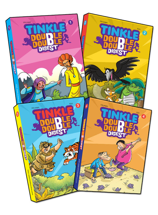 Tinkle Double Double Digest (Pack of 4)