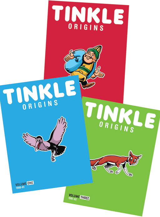 Tinkle Origins + Tinkle Magazine Subscription+ Bobblehead Collection
