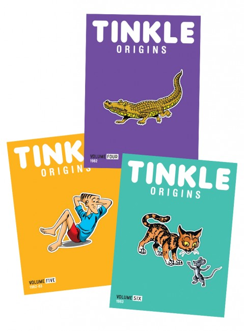 Tinkle Origins Vol.4,5,6 (Pack Of 3)
