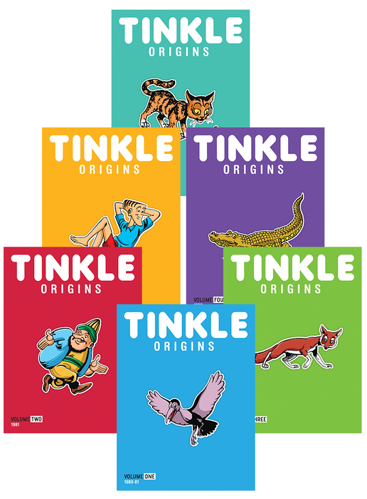 Tinkle Origins - Pack of 6 ( Collector's Edition)
