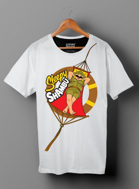 Sleepy Shambu On Hammock T-Shirt