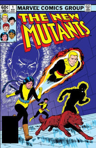 THE NEW MUTANTS #1 *1st SOLO SERIES, 1st APP KARMA, 2nd APP TEAM*