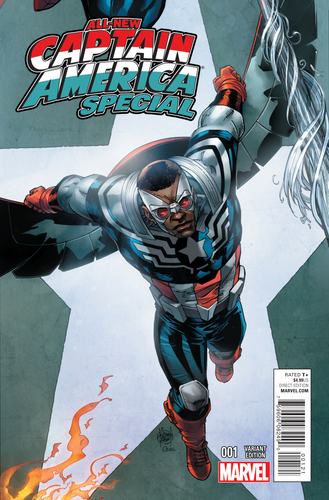 ALL NEW CAPTAIN AMERICA SPECIAL #1 CONNECTING VAR
