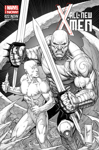 ALL NEW X-MEN #22.NOW KEOWN SKETCH 1:100 VARIANT