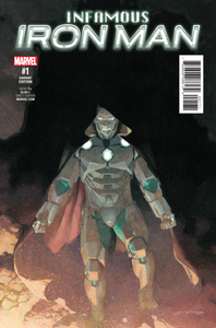 INFAMOUS IRON MAN #1 RIBIC 1:25 VARIANT