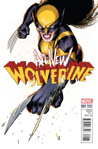 ALL NEW WOLVERINE #1 LOPEZ VARIANT