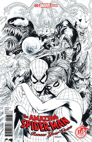 AMAZING SPIDER-MAN RENEW YOUR VOWS #1 KIRKHAM EXCLUSIVE VARIANT