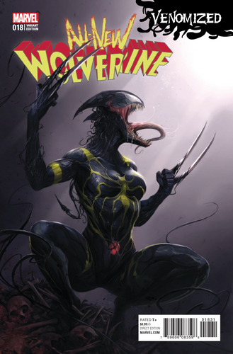 ALL NEW WOLVERINE #18 MATTINA VENOMIZED VARIANT