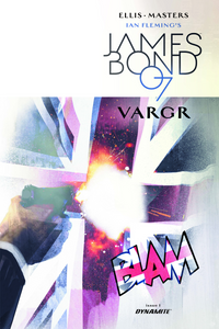 JAMES BOND VARGR #1 JOCK UNIQUE 1:60 VARIANT