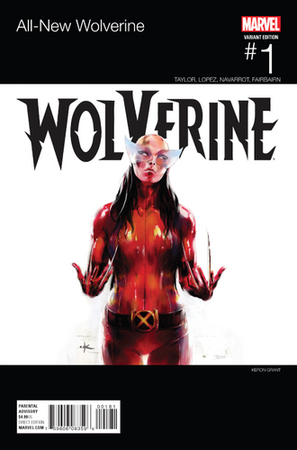 ALL NEW WOLVERINE #1 GRANT HIP HOP VARIANT