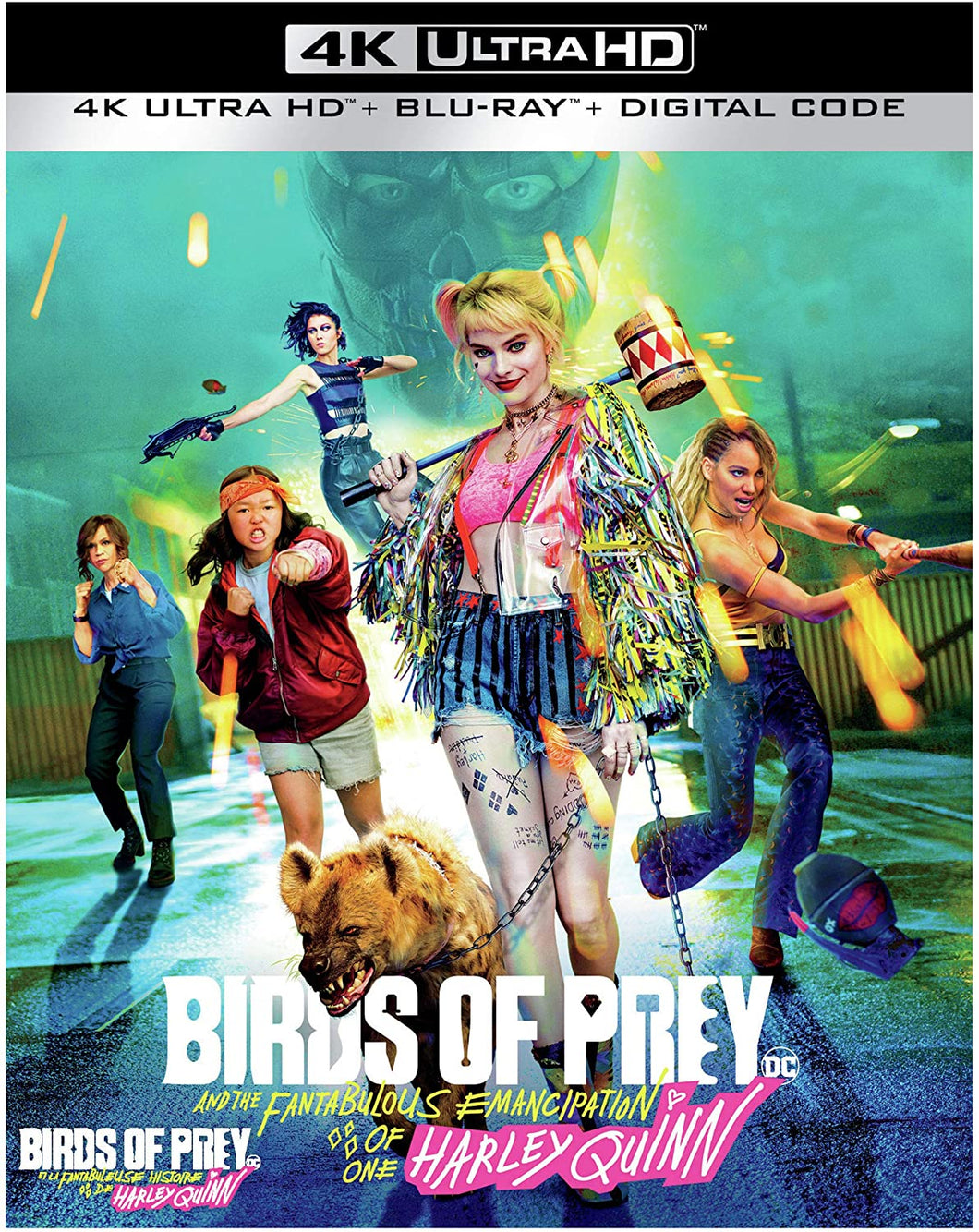 BIRDS OF PREY (AND THE FANTABULOUS EMANCIPATION OF ONE HARLEY QUINN) 4K ULTRA HD + BLU-RAY + DIGITAL