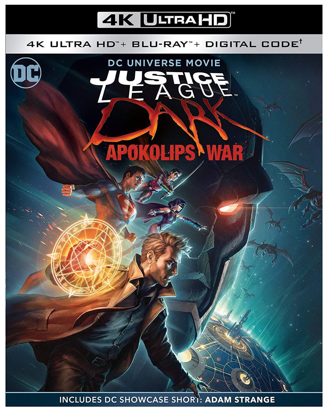 JUSTICE LEAGUE DARK: APOKOLIPS WAR 4K ULTRA HD + BLU-RAY + DIGITAL
