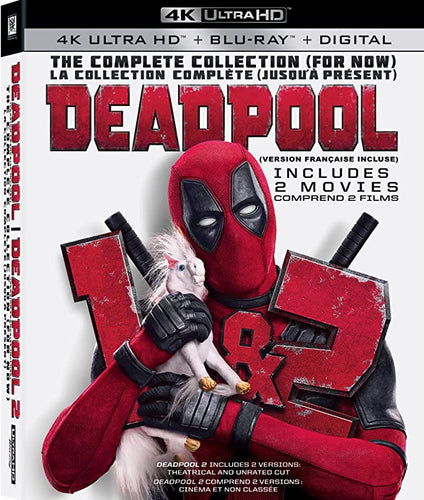 DEADPOOL: THE COMPLETE COLLECTION (FOR NOW) 4K ULTRA HD + BLU-RAY + DIGITAL