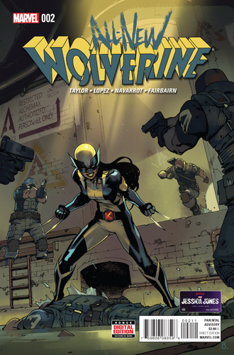 ALL NEW WOLVERINE #2