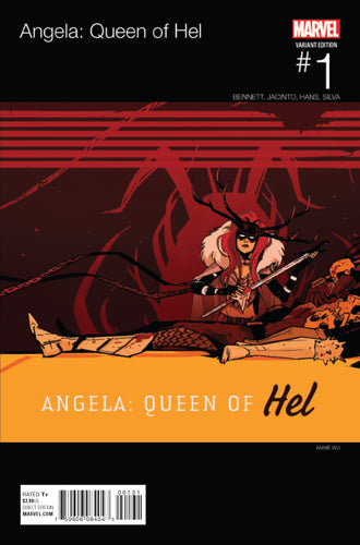 ANGELA QUEEN OF HEL #1 WU HIP HOP VARIANT