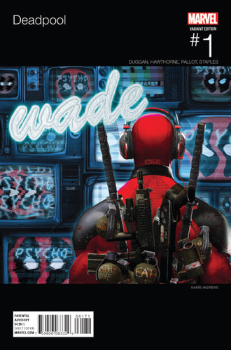 DEADPOOL #1 ANDREWS HIP HOP VARIANT