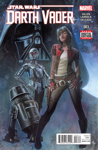 STAR WARS DARTH VADER #3 *1st APP DOCTOR APHRA, 0-0-0, BT-1*