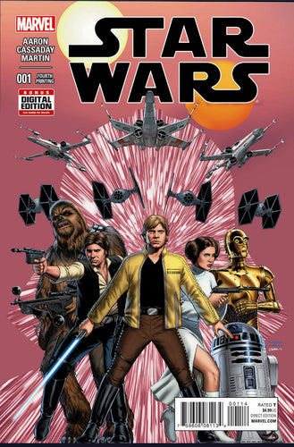 STAR WARS #1 4th PRINT