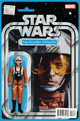 STAR WARS #11 CHRISTOPHER ACTION FIGURE VARIANT