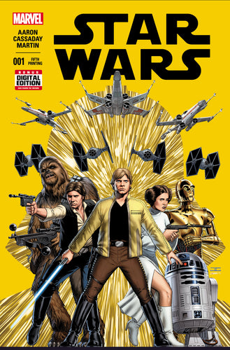 STAR WARS #1 5th PRINT