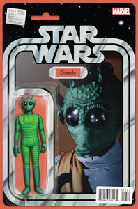 STAR WARS #12 CHRISTOPHER ACTION FIGURE VARIANT
