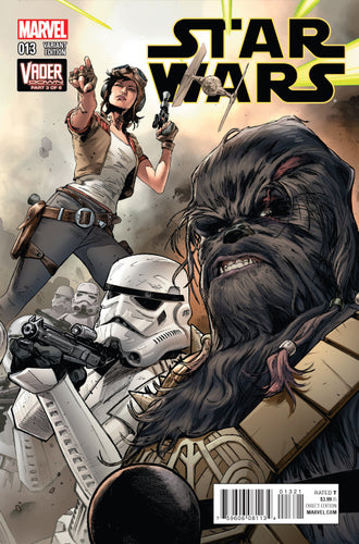 STAR WARS #13 MANN CONNECTING VARIANT