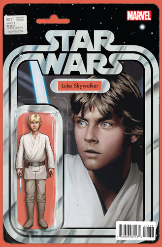 STAR WARS #1 CHRISTOPHER ACTION FIGURE VARIANT