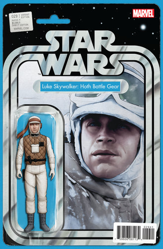 STAR WARS #29 CHIRSTOPHER ACTION FIGURE VARIANT