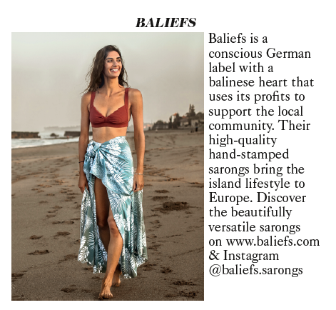 Baliefs Sarongs in Vogue