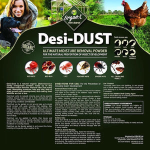 Organ-X Desi-Dust 25kg for Mites (Ecologica.ie)