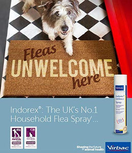 Indorex Defence Flea Treatment 500ml (Virbac)