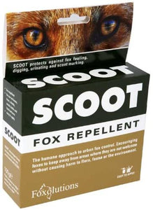 SCOOT Fox Repellent 2 x 50g (Ecologica.ie)