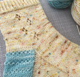 Buttercup Sock Pattern (PDF)