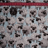 Sheep Print Fabric